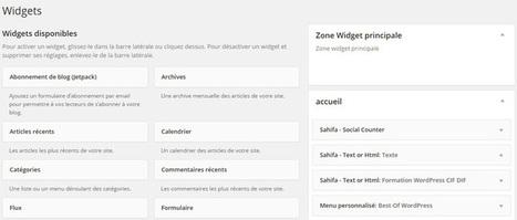 10 Widgets utiles pour WordPress   Mes ressources personnelles   Scoop.it