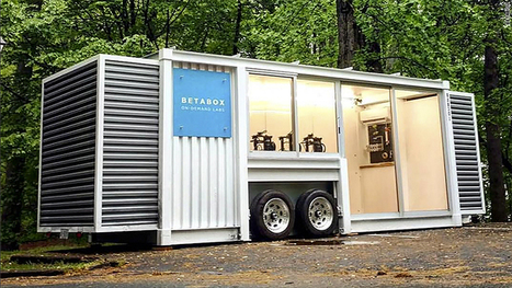 Betabox converts shipping containers into tech labs | Makers hacedores fablab | Scoop.it