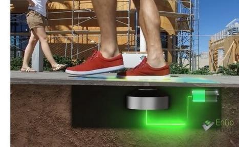 Los pasos de los peatones en Las Vegas potencian las farolas inteligentes de EnGoPlanet | I didn't know it was impossible.. and I did it :-) - No sabia que era imposible.. y lo hice :-) | Scoop.it
