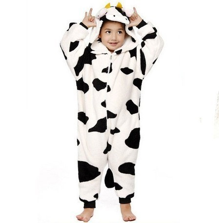 Children's Cow Cosplay Pajamas Onesies Kids Kigurumi Animal Costume | Personalized Clothing | Scoop.it