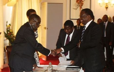 Acting President Mnangagwa finally succeeds President Mugabe | NGOs in Human Rights, Peace and Development | Scoop.it