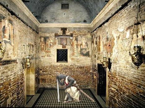 I Templari dietro il trasporto e deposizione delle 87 pietre della Santa Casa a Loreto. | Le Marche un'altra Italia | Scoop.it