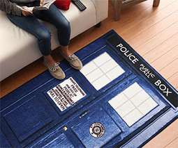 Two Doctor Who TARDIS Rugs | Cool Carpet | Scoop.it