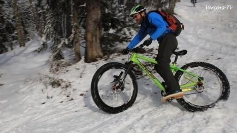 Fat Bike en test dans le Vercors | Stations, ski, neige et tourisme en montagne | Scoop.it