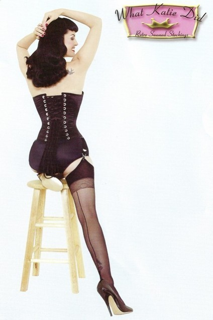 Retro Seamed Stockings by What Katie Did in Stockings and Tights | Vulbus Incognita Magazine | Scoop.it