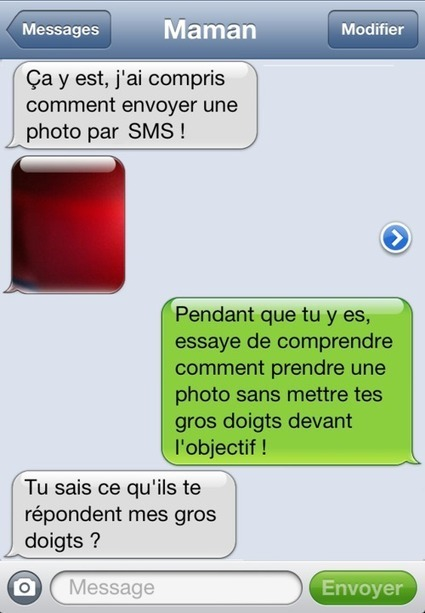 SMS à Maman ! | L'OEIL A VIF - un blog par François Coulaud | SMS Solutions professionnelles | Scoop.it