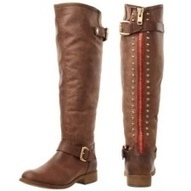 Red Zipper Boots - A Must Have Pair - Find My Footwear | Fashion | Scoop.it