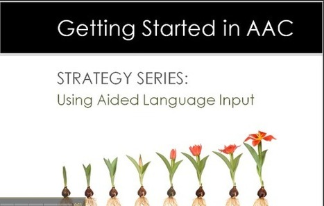 Strategy of the Month: Aided Language Input | Aided Language Input | Scoop.it