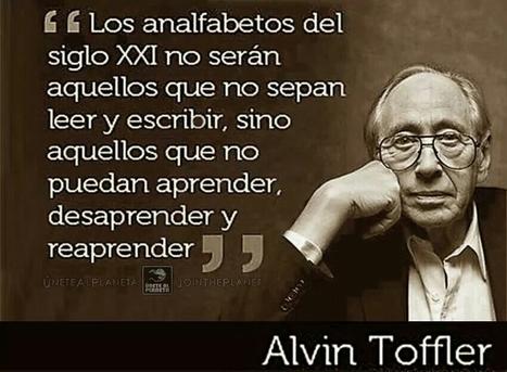 El analfabetismo del Siglo XXI según Alvin Toffler | Evolución Consciente | Scoop.it