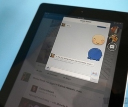 Facebook 6.0 for iPad and iPhone: hands-on with Chat Heads, stickers, and more - The Verge | App Developments | Scoop.it