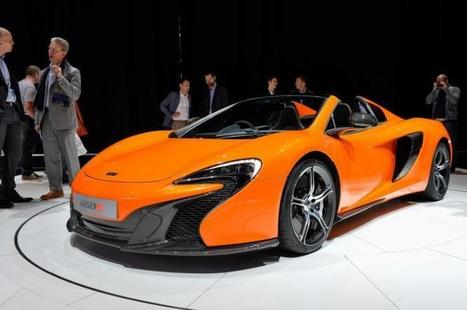 Vidéo : Car Design - McLaren 650S Spider | Technophilia | technophilia.eu | Scoop.it