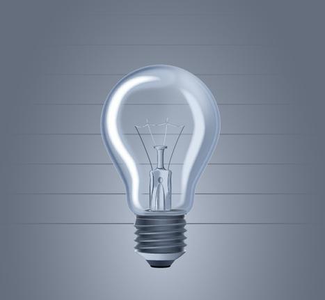 How to create a Light Bulb | Vectors | Scoop.it
