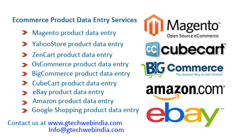 eBay Product Data Entry | eBay Listing Services | Outsource Ecommerce Product Upload Services to Gtechwebindia.com | Scoop.it