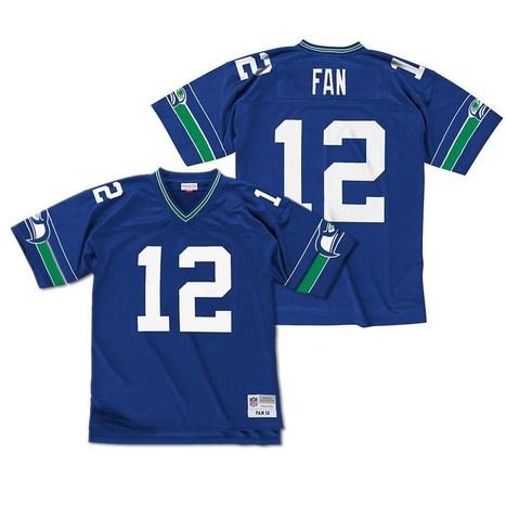 Seattle Seahawks Fan Retro Replica Jersey (Blue) | Seattle Sports Teams | Scoop.it