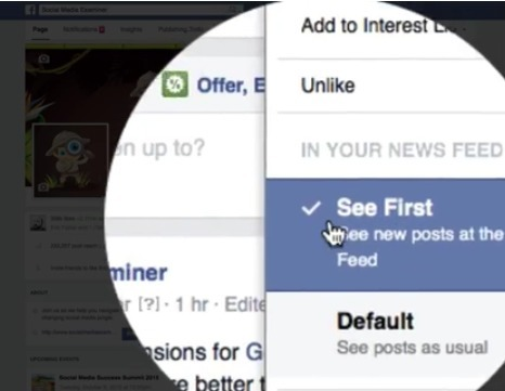 "How to Use Facebook's New ""See First"" Feature for Desktop and Mobile Users 