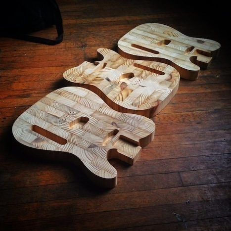 Upcycled Guitars | Upcycle That | Want not, Waste not | Scoop.it