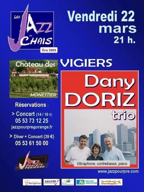 Dany Doriz Trio à Bergerac | dordogne - perigord | Scoop.it