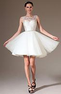 [EUR 119,99] eDressit 2014 New Beaded Sheer Top Short Organza Bridal Dress (01140407)   eDressit 2014 Nouveauté Magnifique Robe de Soirée en tendance   Scoop.it