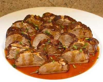 APPLE A DAY: New Mexican Rubbed Pork Tenderoin with Bourbon-Ancho ... | mexicanismos | Scoop.it