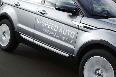 Range Rover Evoque nine-speed auto - What Car?   RR Evoque   Scoop.it