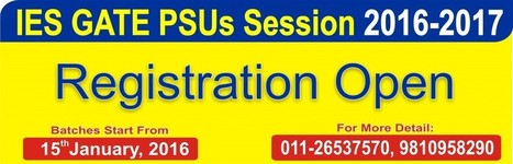 Registration Starts for Fresh Batches at IES Academy | IES Coaching in DELHI | Scoop.it