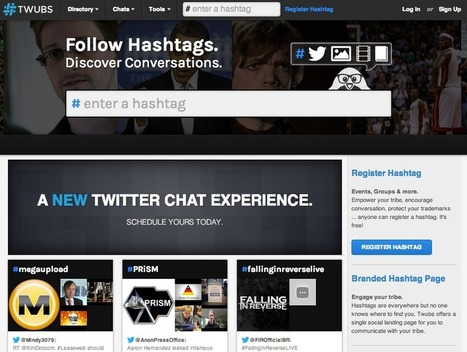 5 Twitter Hashtag Tracking and Analytics tools | E-marketing knowledge & principles | Scoop.it