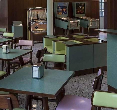Wes Anderson designs retro Milan café for Prada | Vintage and Retro Style | Scoop.it
