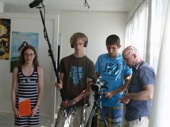 Les adolescents s'initient à la web-télé avec Téléfestival - Le Progrès   Webseries   Scoop.it