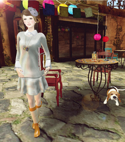 ★GroupGift★ *COCO* Shirt Dress | Wandering Second Life | Scoop.it