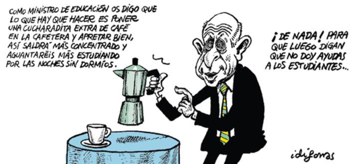 El ministro Wert, en la viñeta de Idígoras | Idígoras y Pachi - Blog diariosur.es | Partido Popular, una visión crítica | Scoop.it