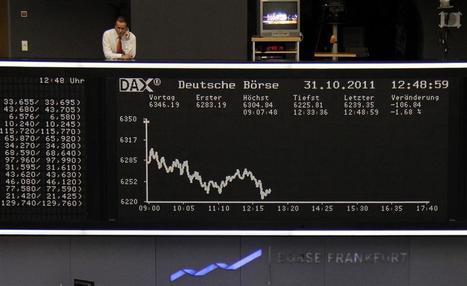 Le référendum grec fait tomber les Bourses | Union Européenne, une construction dans la tourmente | Scoop.it