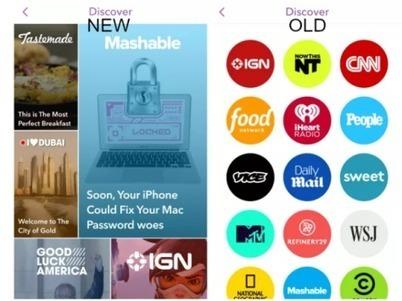 La vocazione editoriale di Snapchat | Social media culture | Scoop.it