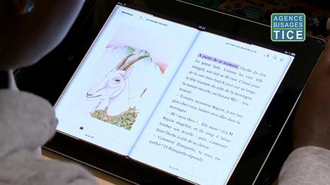 L'Agence nationale des Usages des TICE - Littérature et tablettes tactiles | e-littérature | Scoop.it