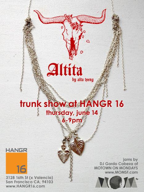 Trunk Show | Hangr 16, Valencia, 6/14 | San Francisco | Around Town | Scoop.it