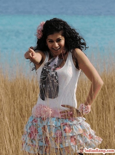 Telugu Actress Tapsee Pictures dancing in Floral Ruffle Mini Skirt – IndianRamp.com   CHICS & FASHION   Scoop.it