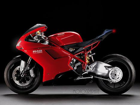 "DUCATI 848 ""1199 HATER"" by motographite   Vintage Motorbikes   Scoop.it"