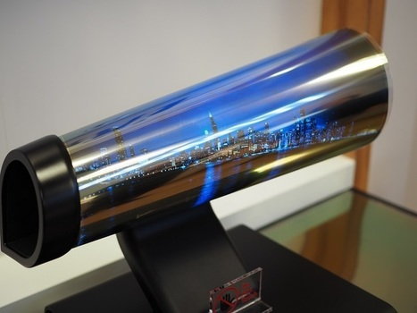 Eyes On With LG's Trippy Rollable Display | CES2016 | Technology | 21st Century Innovative Technologies and Developments as also discoveries, curiosity ( insolite)... | Scoop.it