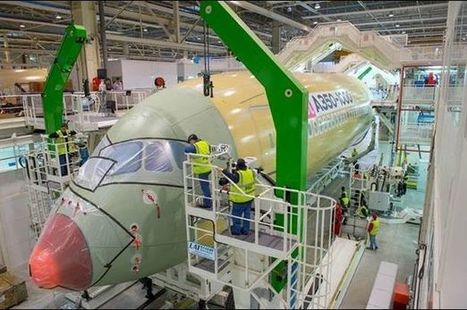 Airbus starts final assembly of first A350-1000 aircraft | Aviation & Airliners | Scoop.it
