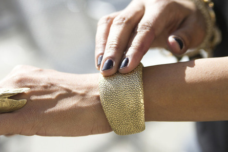 Forget smartwatches: Cuff's smart jewelry is wearable tech that women might ... - TechHive | smartwatch | Scoop.it