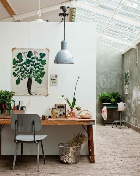 Un bureau dans la véranda – Cocon de décoration: le blog | Décoration | Scoop.it