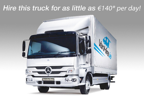 Refrigerated Truck Hire | Hire for just €140 - Galway Ireland | VanHire | Scoop.it