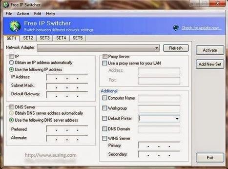 Changer une configuration IP en 1 clic | TICE, Web 2.0, logiciels libres | Scoop.it