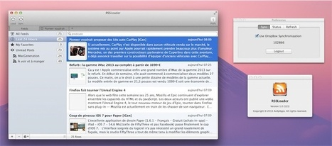 RSSLoader pour MacOS : synchroniser ses fils RSS dans Dropbox... en théorie ! | RSS Circus : veille stratégique, intelligence économique, curation, publication, Web 2.0 | Scoop.it
