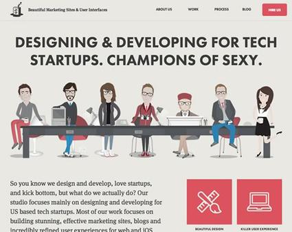 Flat Website Design | Design | InspirationMart.com | Inspiration mart | Scoop.it
