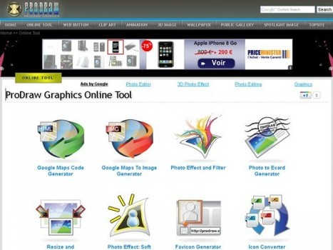 11 outils de graphisme en ligne : ProDraw Graphics Online Tool | Time to Learn | Scoop.it