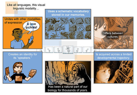 What is Visual Language & How Comics Can Help Create It [graphic] | Design Revolution | Scoop.it
