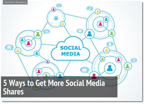 5 Ways to Get More Social Media Shares | Sales & Relationship Management | Scoop.it