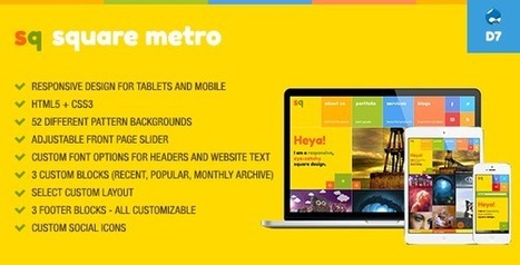 5 Best Metro Drupal Theme | Smashmagz | Smashmagz | Scoop.it