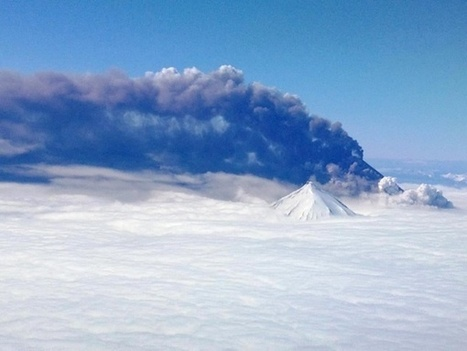 Alaska Volcano — Pavlof And Cleveland Volcanoes Both Erupting Now - PlanetSave.com | Weather Disasters | Scoop.it
