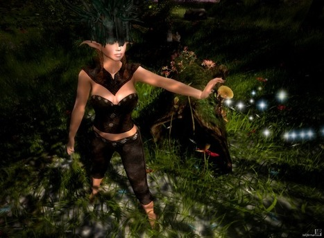 @Melroo's Place: Second Life. Fantasy. Role-play. Fashion.: A Day in the Life of a Forest Guardian | @Melroo's Place | Scoop.it